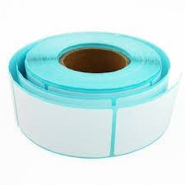 Picture of Thermal Transfer 101mm x 149mm 38mm core 1 across Label 250per roll. Price on Application