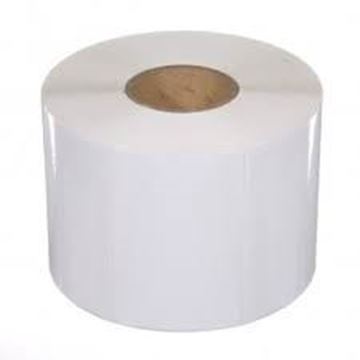 Picture of Gloss 100mm x 48mm 38mm core 1 across Label 750per roll