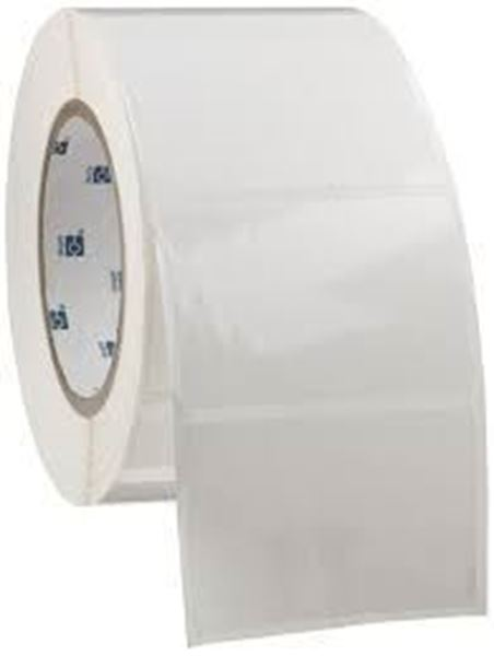 Picture of Gloss 100mm x 98mm 76mm core 1 across Label 1,000per roll